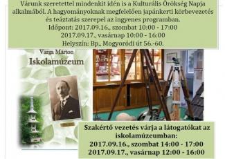 Kulturális Örökség 2017